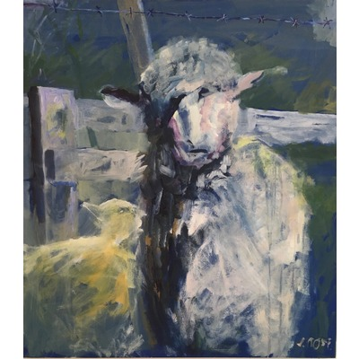 """Ewe and Lamb"" - 2016"
