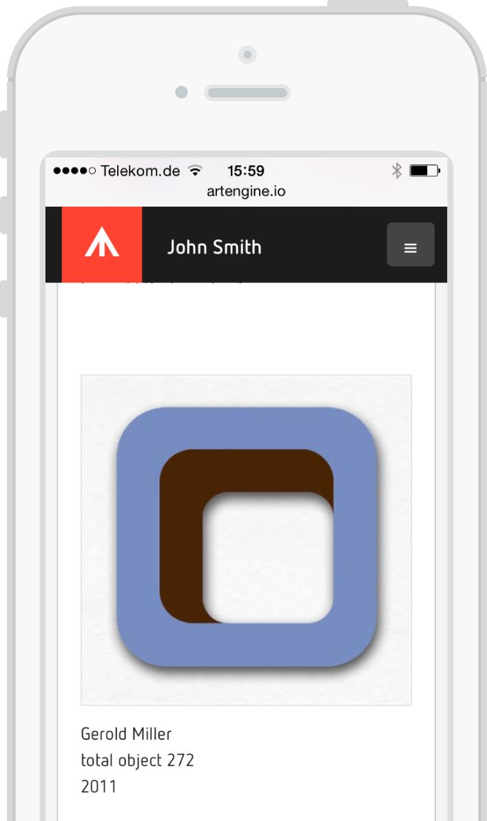 ArtEngine - your online art inventory